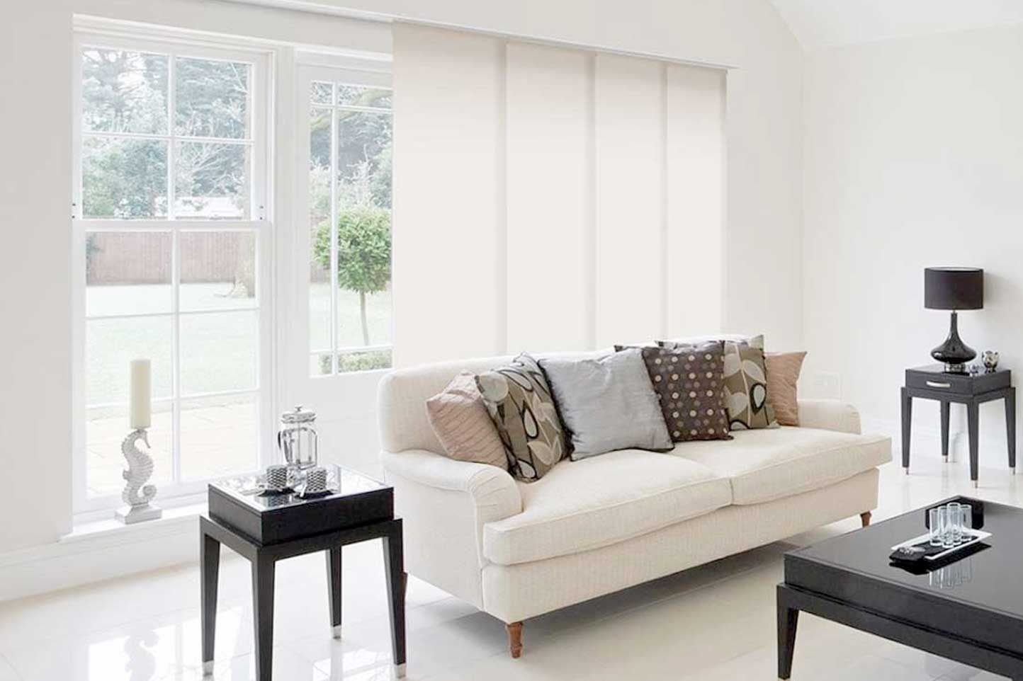 Custom Panel Track Shades Window Treatments